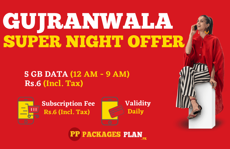 Jazz Gujranwala Super Night Offer