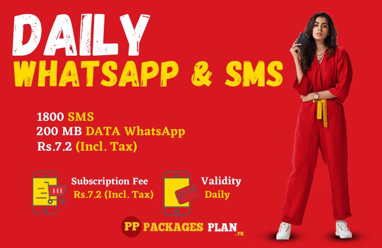 Jazz Daily Whatsapp & Sms Bundle