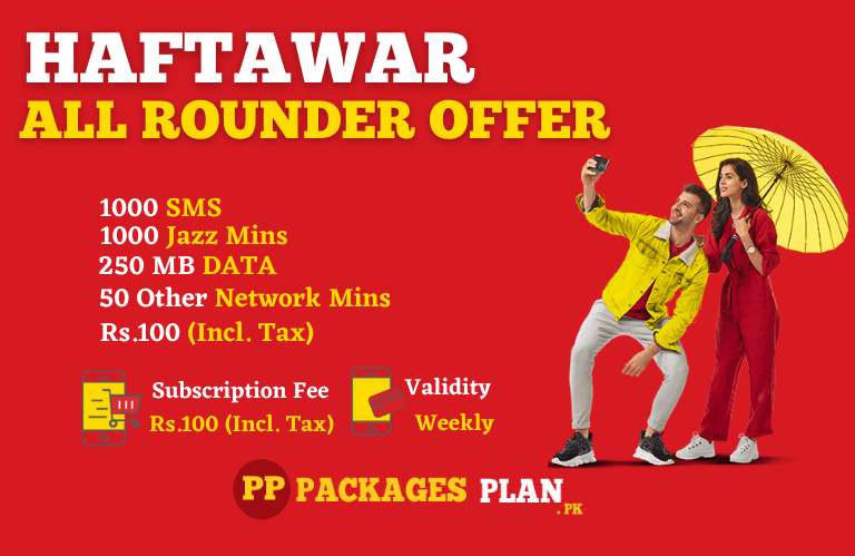 Jazz Haftawaar All Rounder Offer