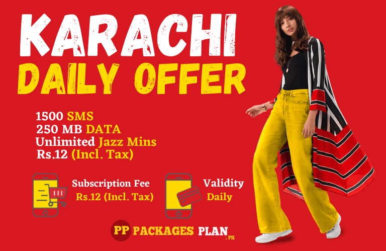 Jazz Karachi Daily Hybrid Package