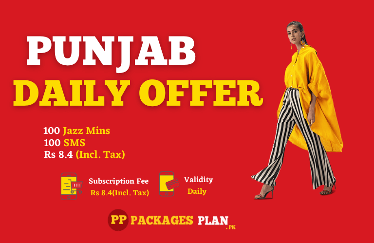 Jazz Punjab Daily Offer