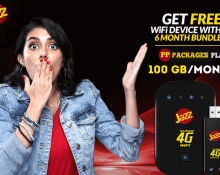 Jazz 6 Month Bundle 4G Device