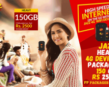 jazz Heavy 4G Device Package