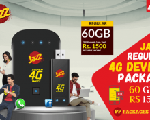 Jazz Regular 4G Device Package
