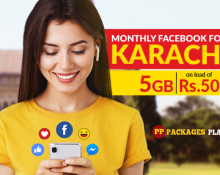 Jazz Karachi Monthly Facebook Offer