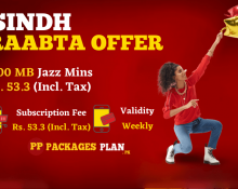 Jazz Sindh Raabta Offer