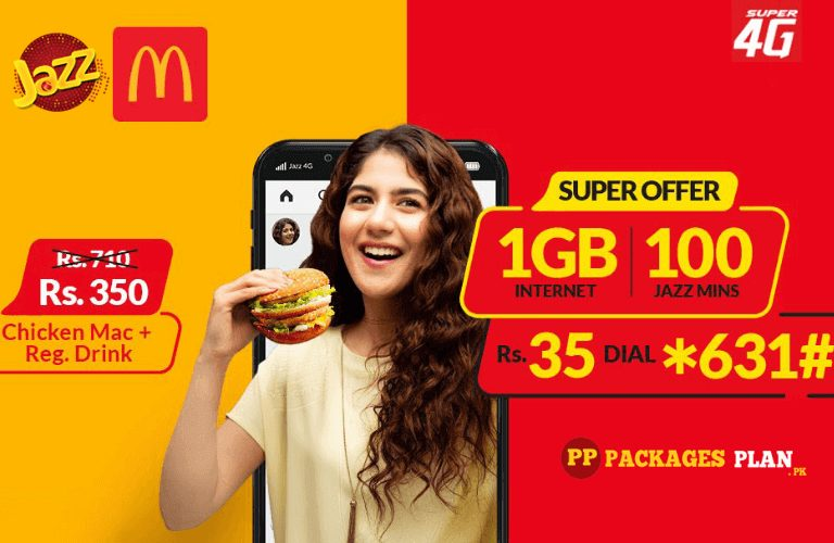 Jazz Super Offer jazz And McDonald's