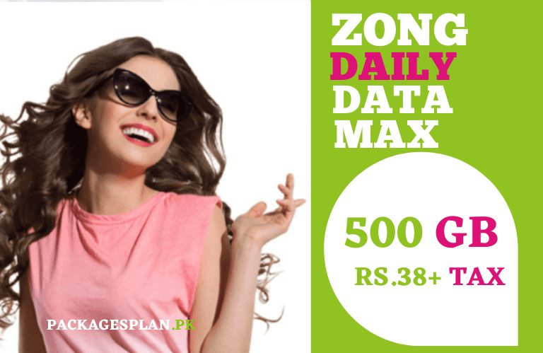 Zong Daily Data Max Package