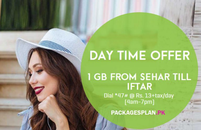 Zong Daily Day Time Offer
