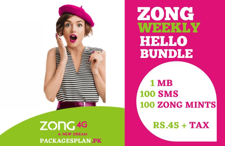Zong Hello 7 Day Bundle