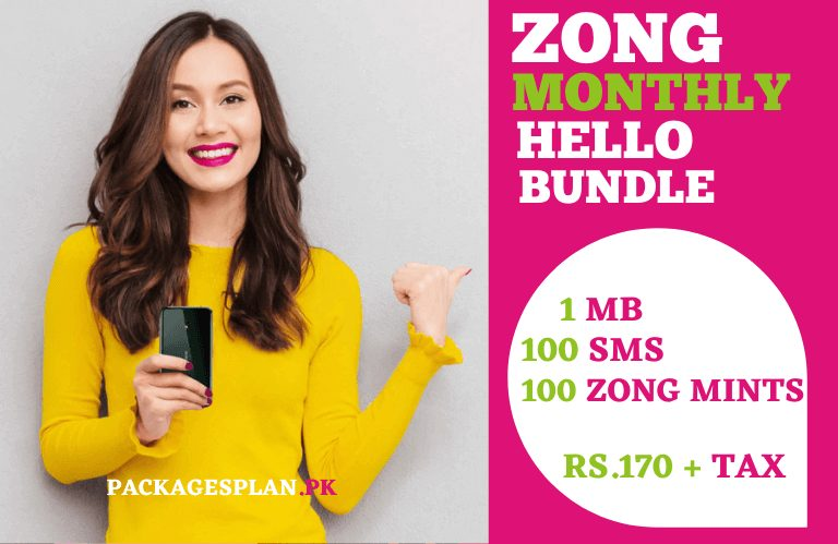 Zong Hello Monthly Bundle