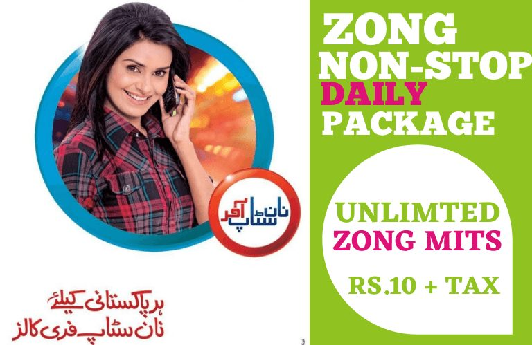 Zong Non Stop Package