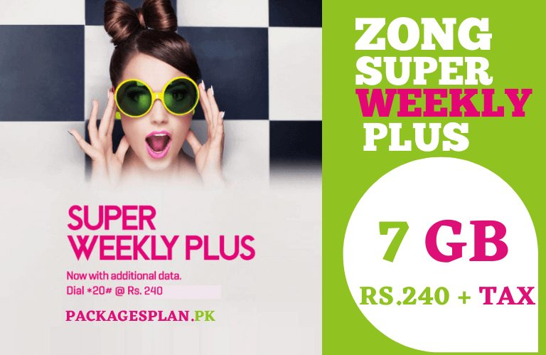 Zong Super Weekly Plus Offer