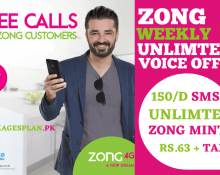 Zong Unlimited Weekly Voice Offer