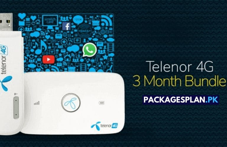 Telenor 4G 3 Month Bundle
