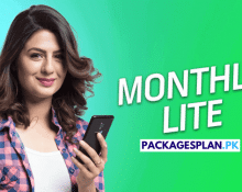 Telenor 4G Monthly Lite