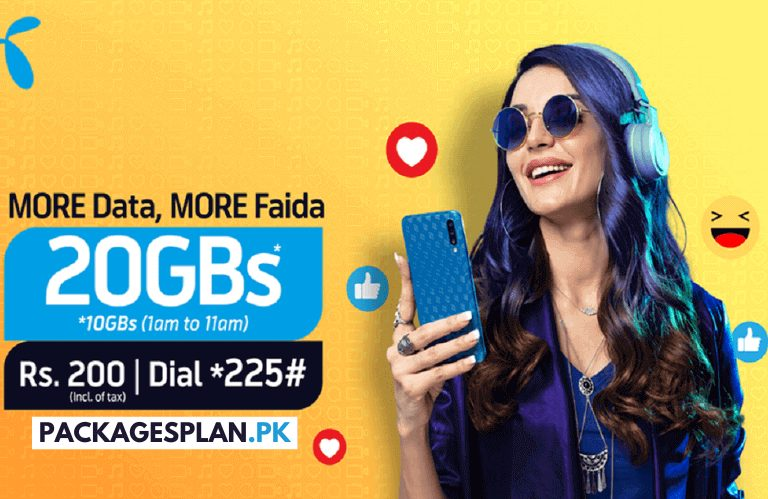 Telenor 4G Weekly Ultra Plus Offer