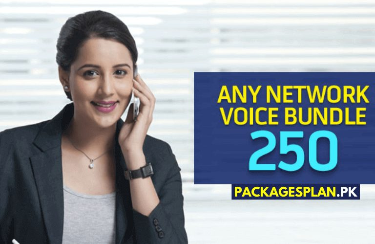 Telenor Any Network Voice Bundle 250