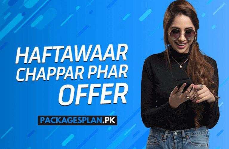 Telenor Haftawar Chappar Phaar Offer