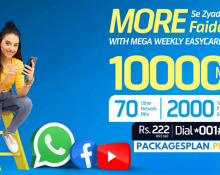 Telenor Mega Weekly Easy Card