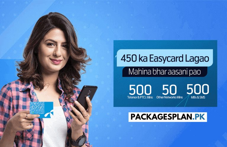 Telenor Monthly Easy Card 450