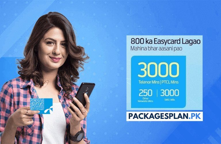 Telenor Monthly Easy Card 800