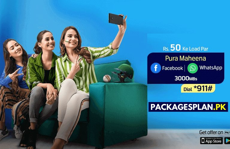Telenor Monthly Social Pack