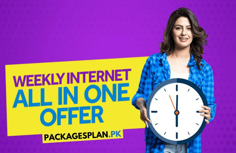 Telenor Weekly Internet All In One Offer